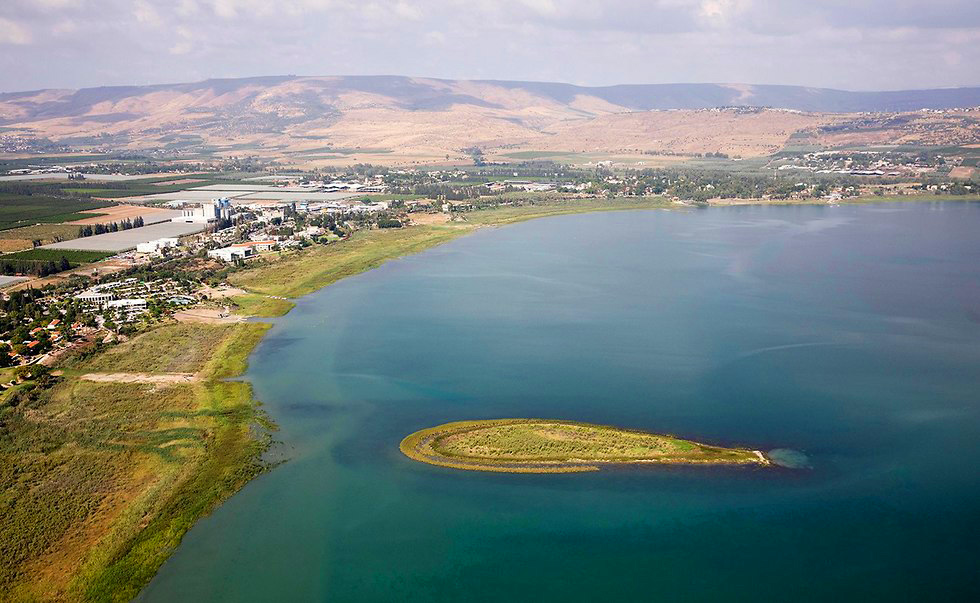 Dry Sea of Galilee